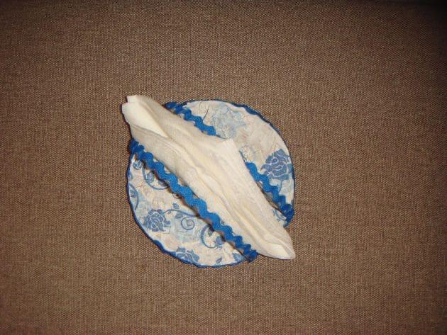 использование салфетницы